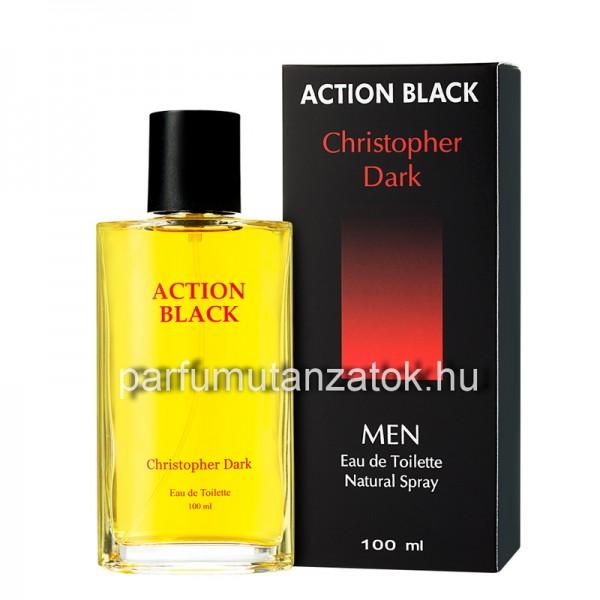 Adidas Active Bodies utánzat - Christopher Dark Action Black Parfüm