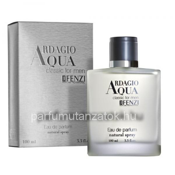 Armani Acqua di Gio utánzat - J. Fenzi Ardagio Aqua Classic for Men Parfüm