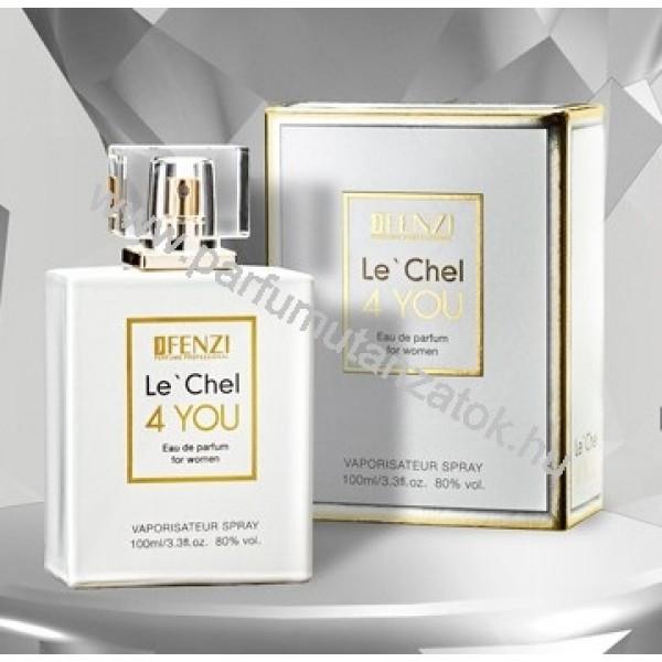 Chanel 5 utánzat - J. Fenzi Le' Chel 4 You Parfüm