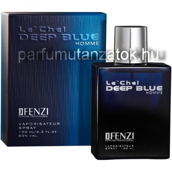 Chanel Bleu de Chanel utánzat - J. Fenzi Le'Chel Deep Blue Parfüm