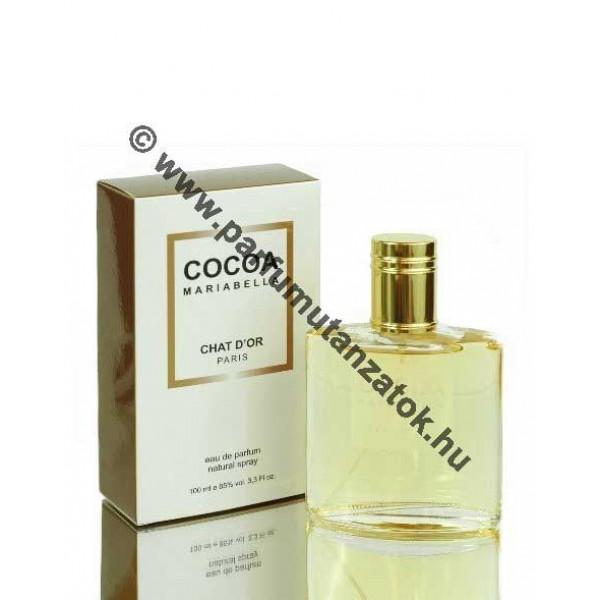Chanel Coco Mademoiselle utánzat - Chat d'or Mariabella Parfüm