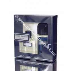 Chat d'or Dolce Gambler szett after shave+deo (Dolce & Gabbana Pour Homme illat)