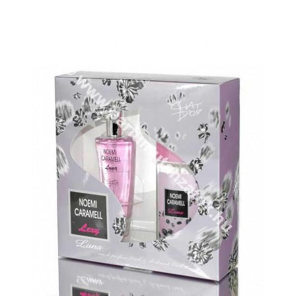 Chat d'or Luna szett parfüm+deo (Naomi Campbell Cat Deluxe at Night illat) Ajándékszett