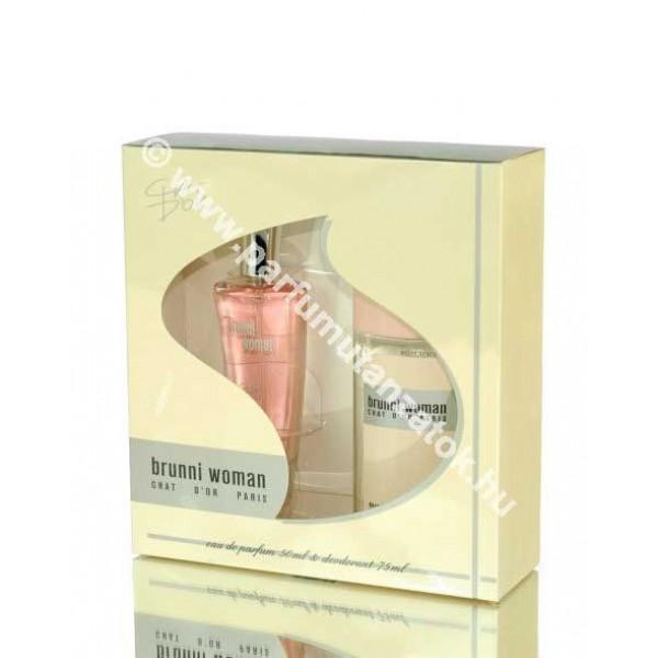 Chat d'or Woman szett parfüm+deo (Bruno Banani Bruno Woman illat) Ajándékszett