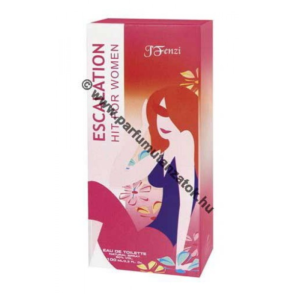 Escada Sunset Heat utánzat - J. Fenzi Escalation Hit for Women Parfüm