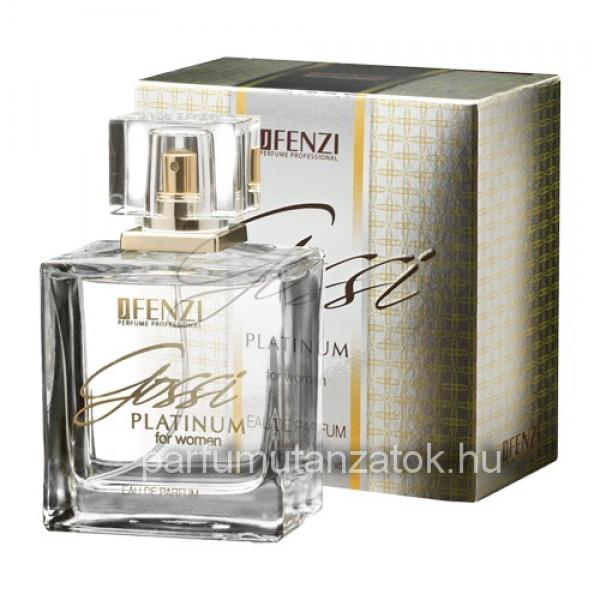 Gucci Premiere utánzat - J. Fenzi Gossi Platinum for Women Parfüm