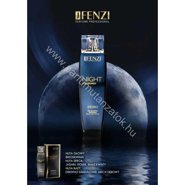 Hugo Boss Nuit pour Femme utánzat - J. Fenzi Night for Women Parfüm