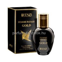 Lady Gaga Fame utánzat - J. Fenzi Femme Fatale Gold