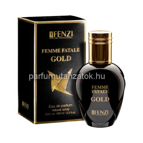 Lady Gaga Fame utánzat - J. Fenzi Femme Fatale Gold Parfüm