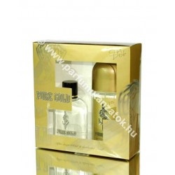 Chat d'or Pure Gold szett after shave+deo (Paco Rabanne 1 million illat)